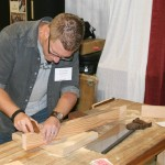 Myself,  competing in the Hand tool Olympics