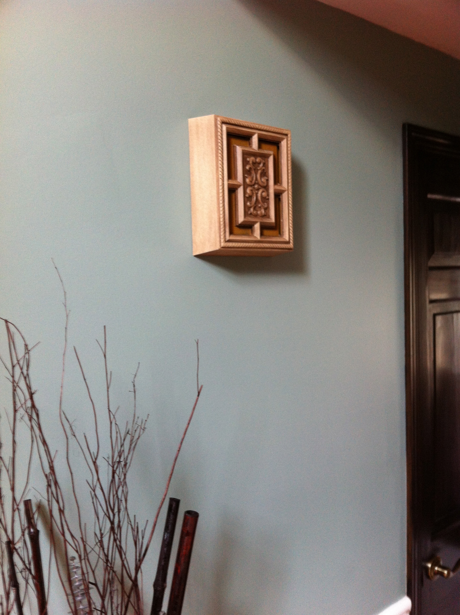 Wall sconce doorbell cover Digital Woodworker