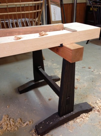 Traditional Japanese Woodworking Bench Ancok